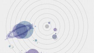 Solar System Planetary Alignment Print